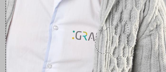 10 Tworzymy prezentacje logo z wykorzystaniem obiektow inteligentnych - Wizualizacja na koszuli