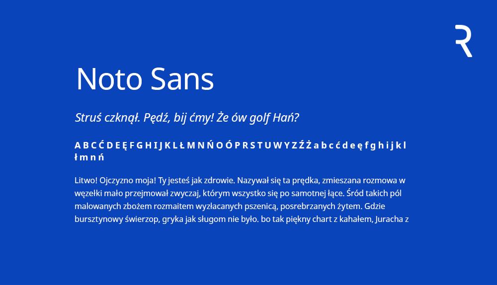 https://fonts.google.com/specimen/Noto+Sans