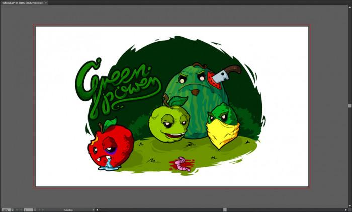 Tworzymy wektorową ilustrację w programie Illustrator (4)