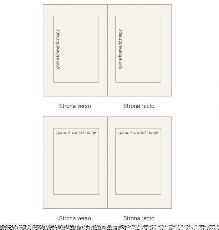 Ryc. 5. Sposoby ułożenia map w dokumencie