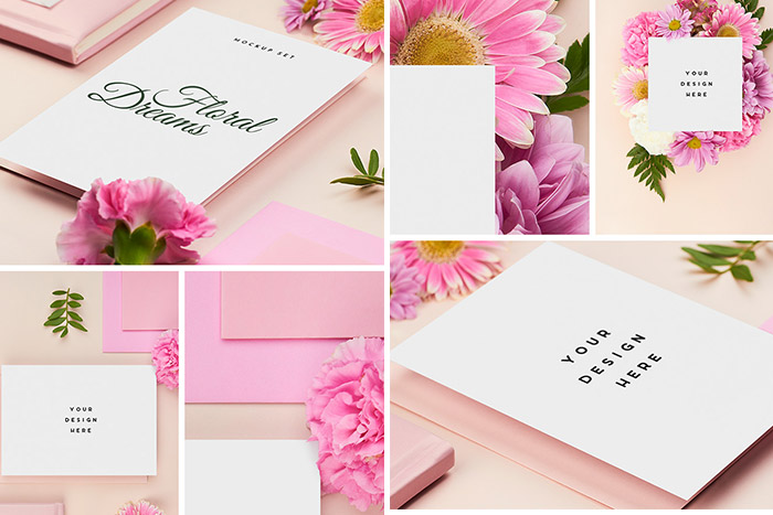 Floral Dreams Mockup Set