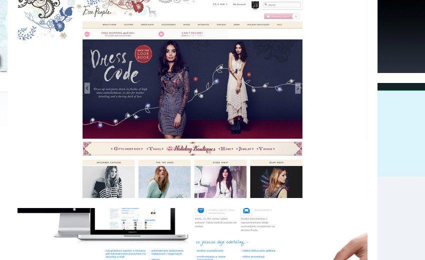 Okładka artykułu Inspirujące strony internetowe — Grudzień 2012