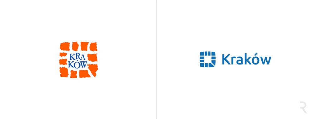 Nowe logo, rebranding Krakowa