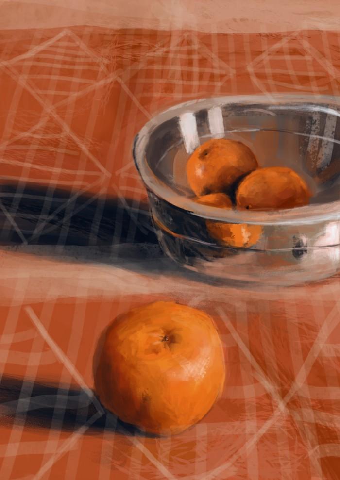10 Martwa natura, czyli jak malowac pomarancze