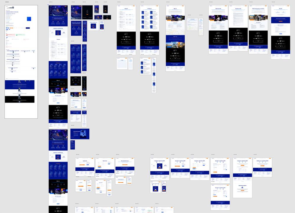 Projekt wykonany w Adobe XD