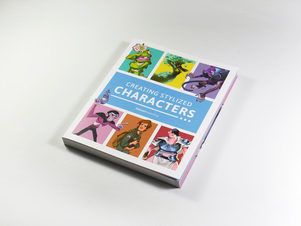 """Recenzja książki """"Creating Stylized Charcters"""""""