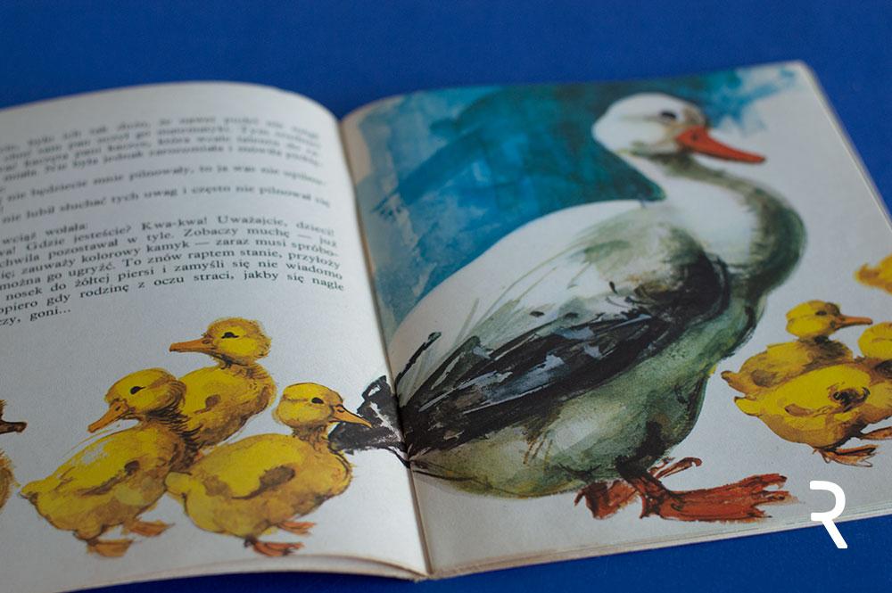 ilustracja Marii Orłowskie-Gabryś do książki TAŚTAŚ Benedykta Hertza