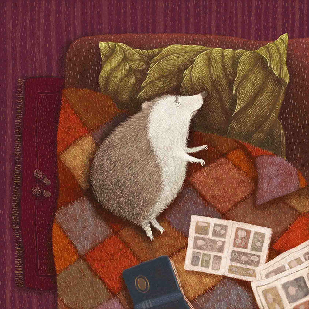 Illustrations for a book written by Ewa Minor, Marcin Minor