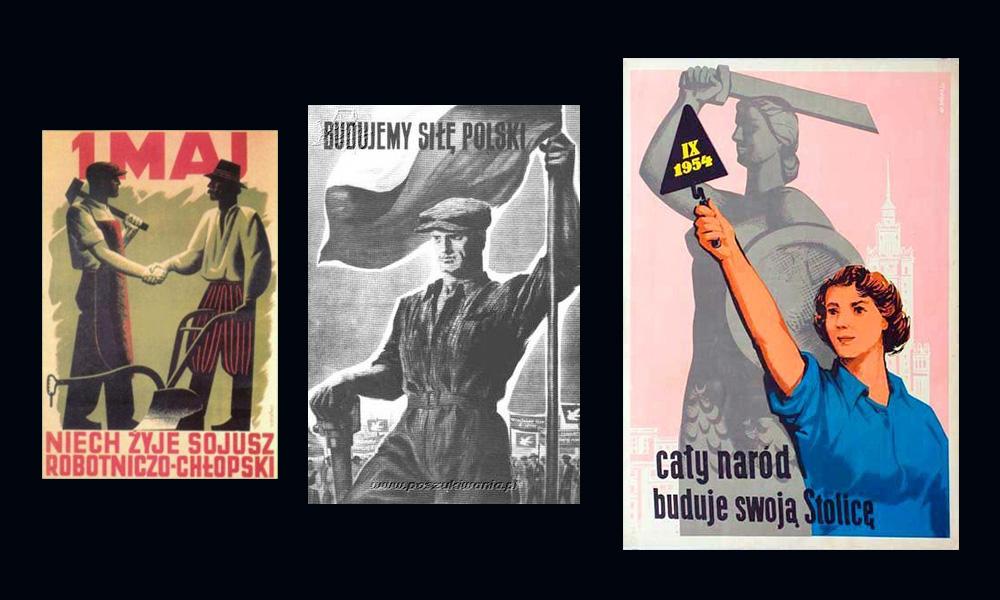 Plakaty komunistyczne
