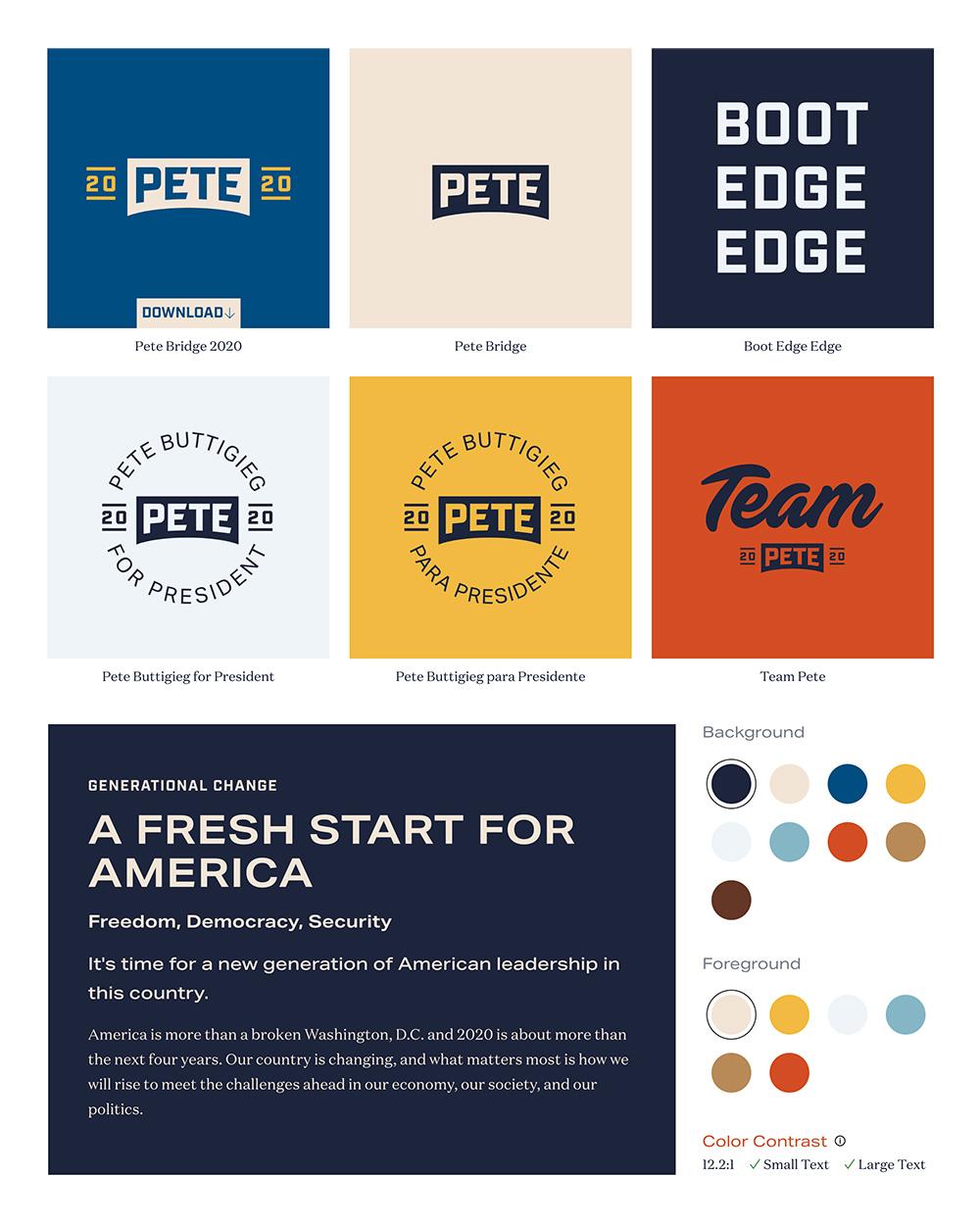 Opcje logo, kolory i czcionki