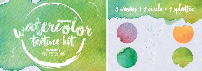 Free-Watercolor-Texture-Kit