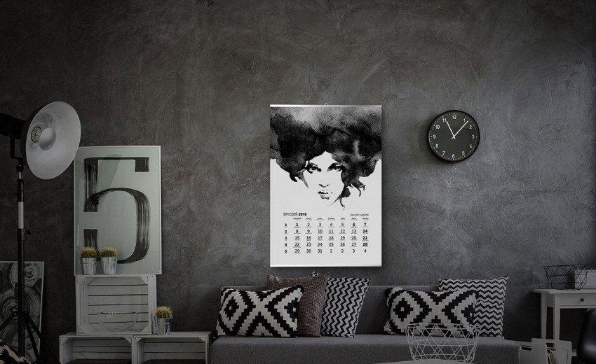 Okładka artykułu Uszlachetnienia w projektowaniu — Kalendarze 2018