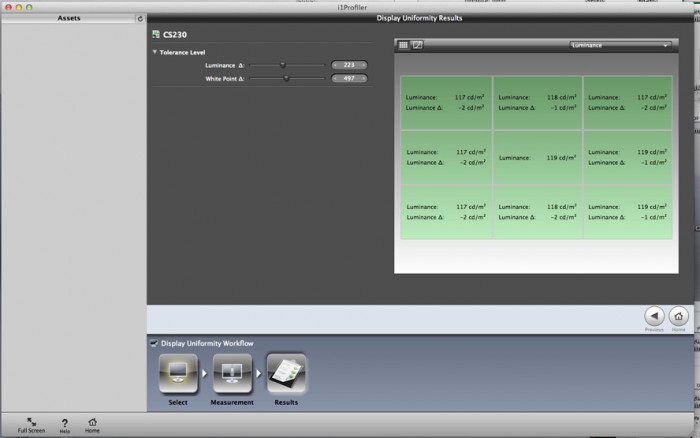 Wyniki dla monitora Eizo ColorEdge CS230