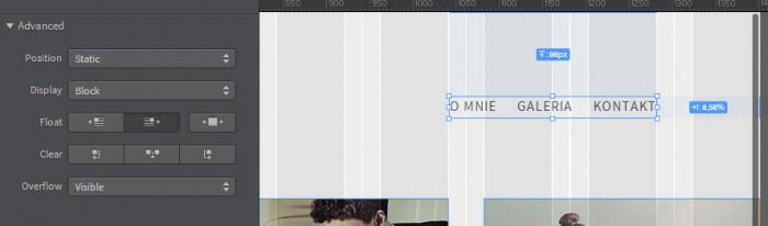 Responsywna-strona-internetowa-z-Adobe-Photoshop-i-Edge-Reflow-Polozenie-pozycjonowanie-float-left