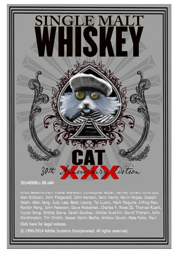 Adobe Single Malt Wiskey Cat