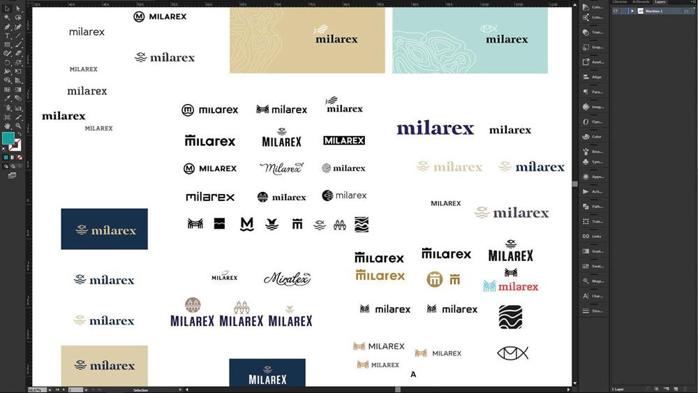 Projekty graficzne dla Miralex