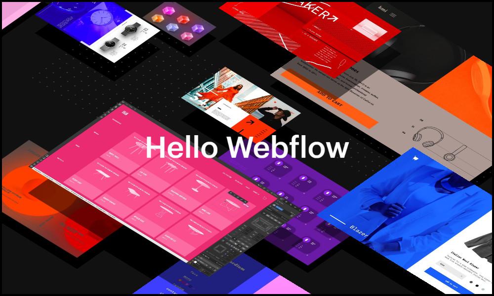 Inspirujące strony internetowe - Webflow Ecomerse