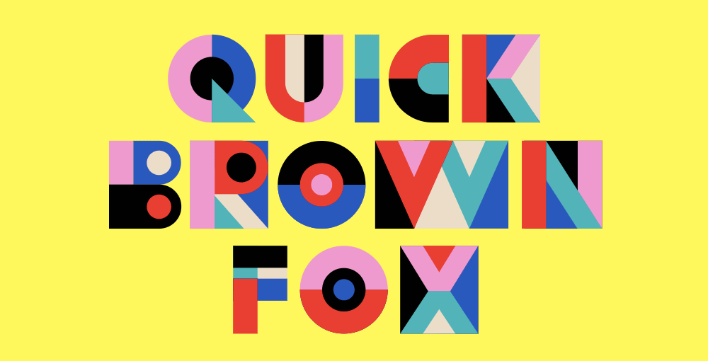 Kolorowe fonty