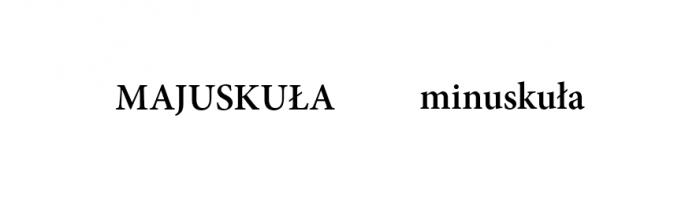 minuskuła-i-majuskuła