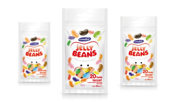 15 Opakowanie zelkow Jelly Beans