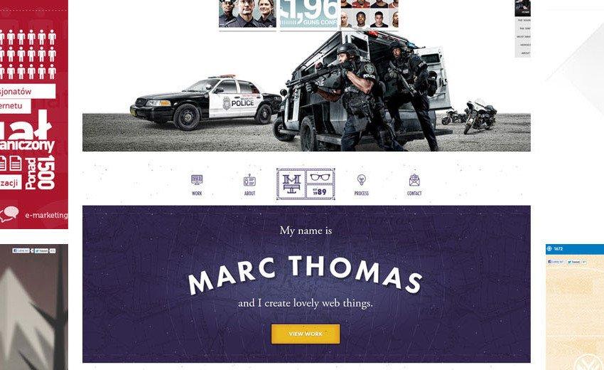Okładka artykułu Inspirujące strony internetowe — Luty 2013