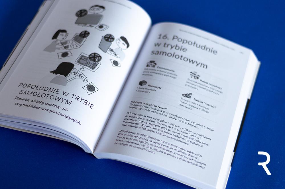 Recenzja książki Kreatywne rytuały przydatne w pracy