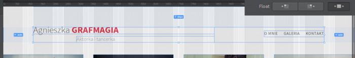 Responsywna-strona-internetowa-z-Adobe-Photoshop-i-Edge-Reflow-Pozycjonowanie-wysrodkowanie margines