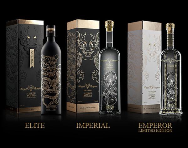 © Nickey Khem - Royal Dragon Vodka