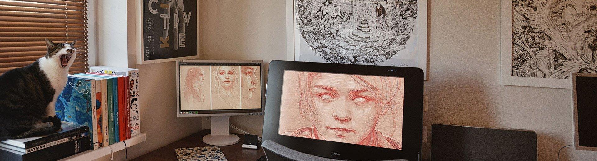 Okładka artykułu Jak wyglądają biurka projektantów? — Zaglądamy do pracowni polskich artystów