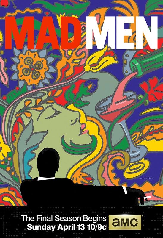 Plakat promujący finałowy sezon serialu Mad Man