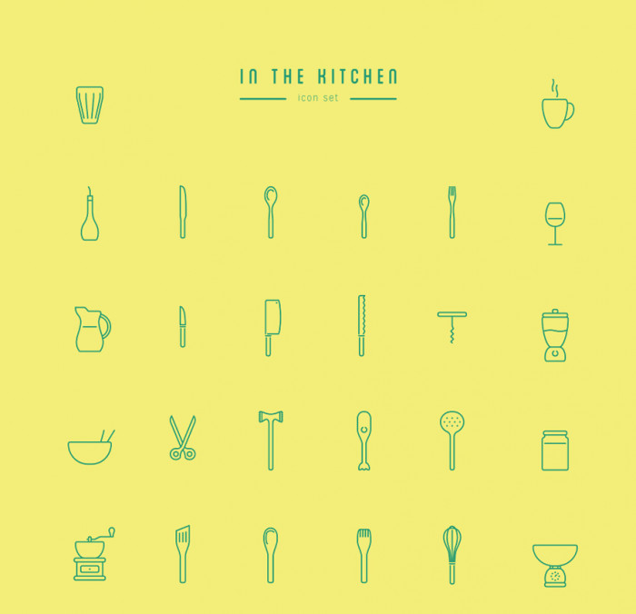 In-The-Kitchen-–-Free-Icon-Set