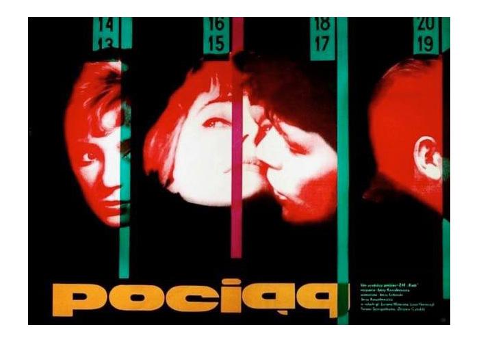 Wojciech Zamecznik, Plakat do filmu Pociąg, 1959