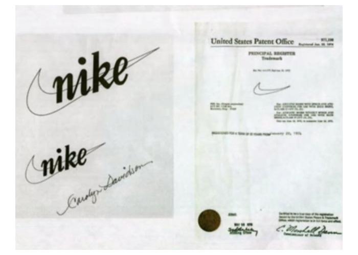 Panten na logo Nike