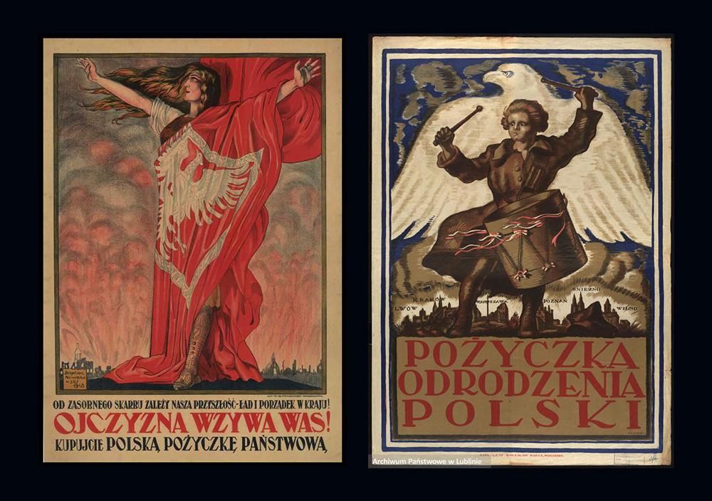 Polski Plakat Na Początku Xx Wieku Sztuka łącząca Rozbity Kraj