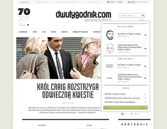 01 Internetowy magazyn kulturalny dwutygodnik.com