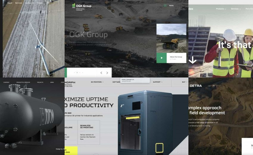 Okładka artykułu Inspirujące strony internetowe związane z przemysłem — Ciekawe przykłady i aspekty na które warto zwrócić uwagę
