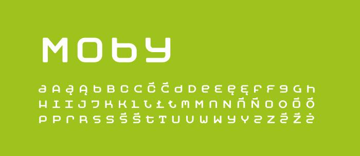 01 Moby Darmowe fonty z polskimi znakami