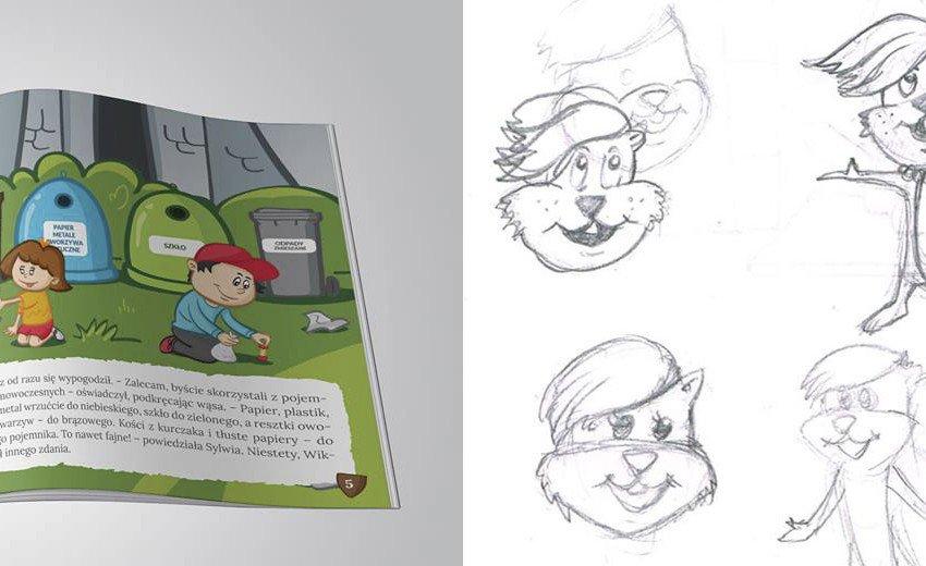 Okładka artykułu Między wróżką a piratem — O rysowaniu dla dzieci