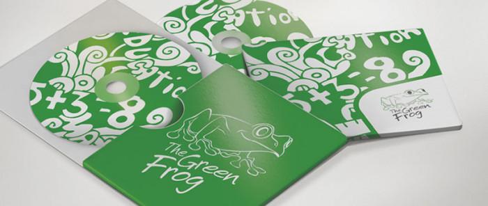 Identyfikacja wizualna The Green Frog autorstwa Owocni