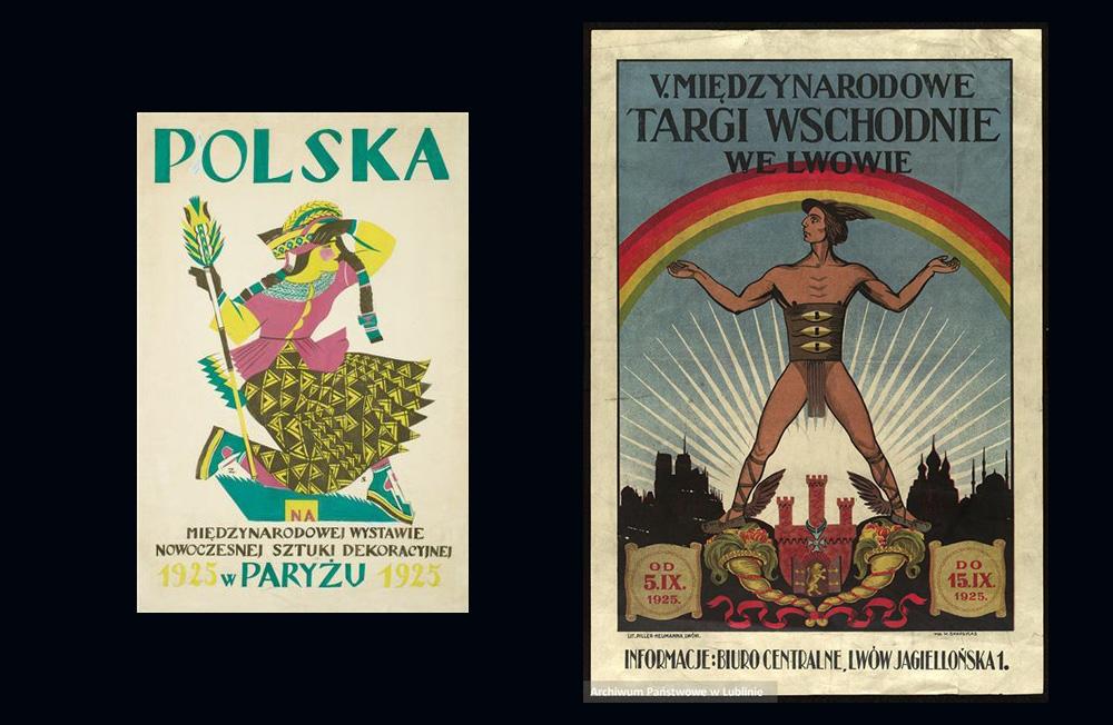Zofia Stryjeńska, Polska na Wystawie Sztuki Dekoracyjnej i Nowoczesnego Przemysłu w Paryżu - 1925,Władysław Skoczylas, V Międzynarodowe Targi Wschodnie we Lwowie - 1925