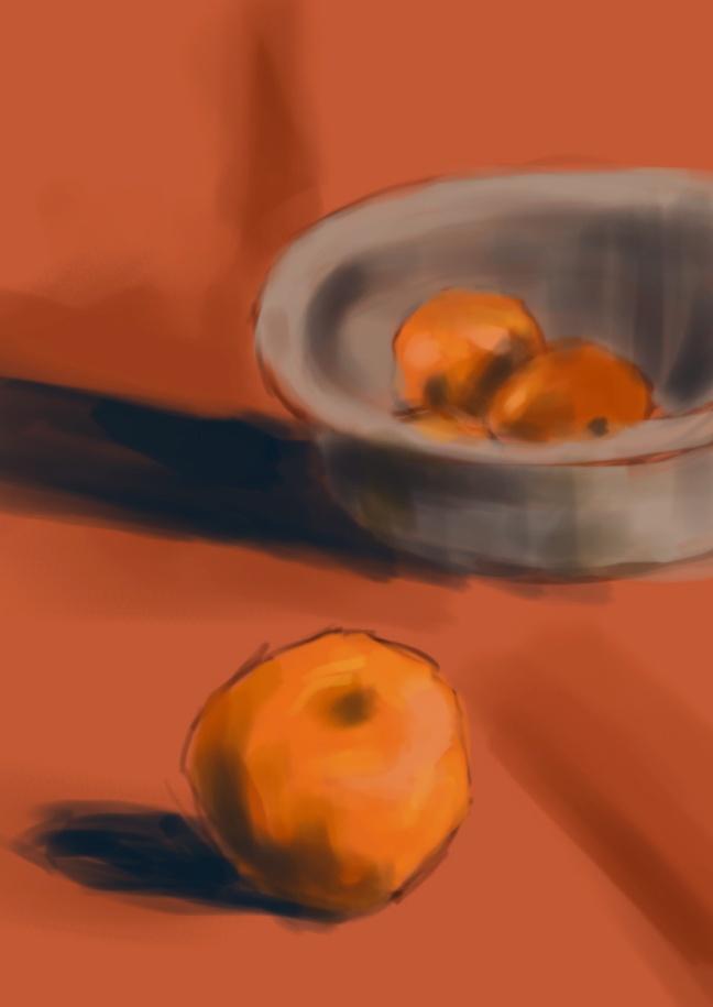 05 Martwa natura, czyli jak malowac pomarancze, speedpainting