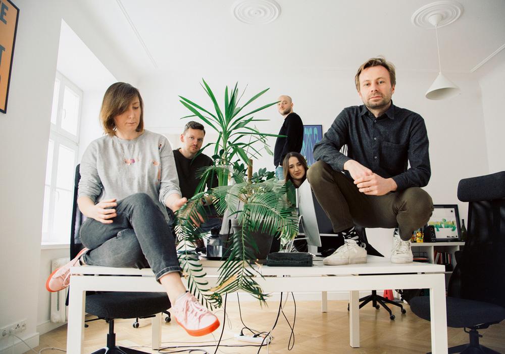 Biurka projektantów - Motyw Studio