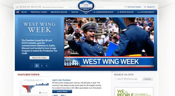 Aktualna Strona Białego Domu