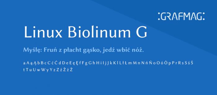 Linux-Biolinum-G