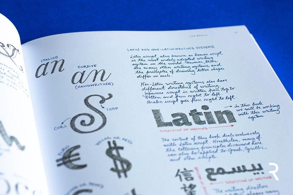 """The Golden Secrets of Lettering"" Recenzja książki Martiny Flor"
