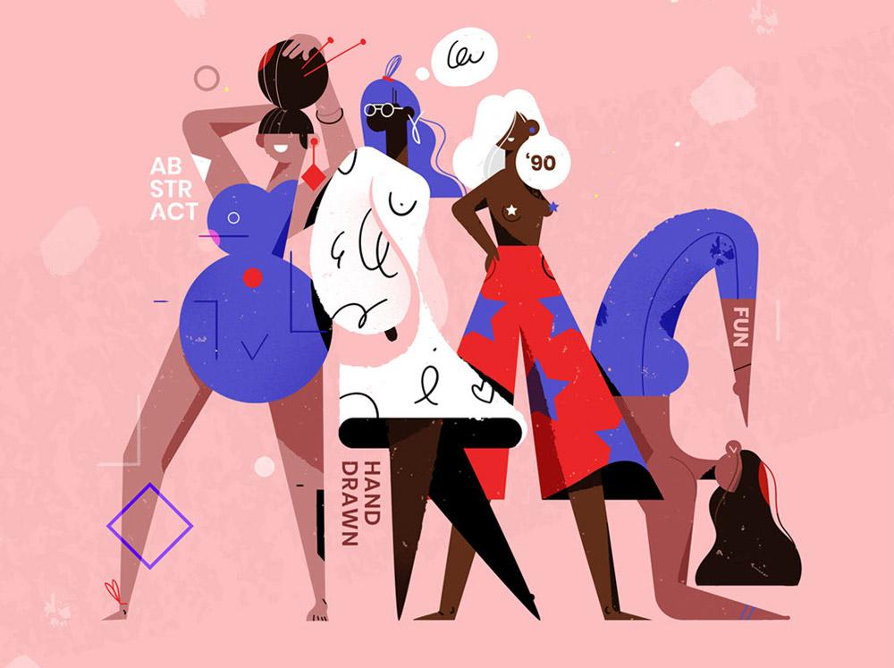 Ilustracje blogowe,Magdalena Koźlicka