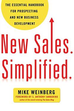 New Sales. Simplified - Mike Weinberg