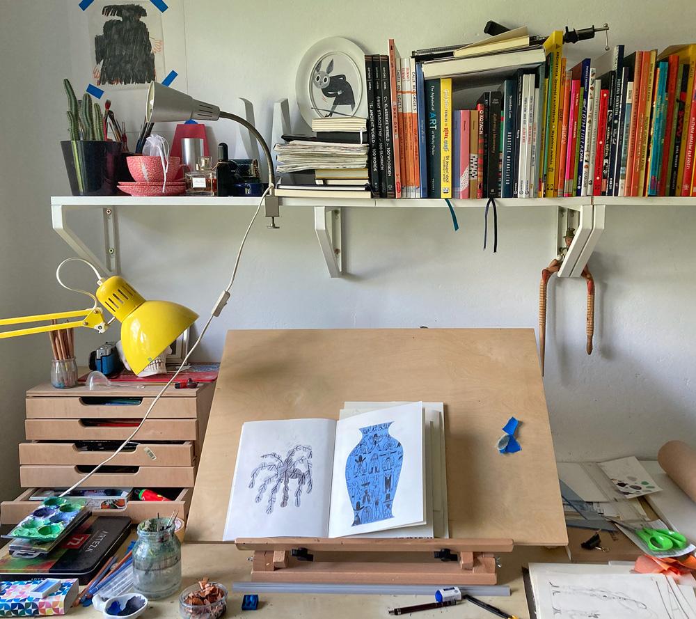 Biurka projektantów - Gosia Herba