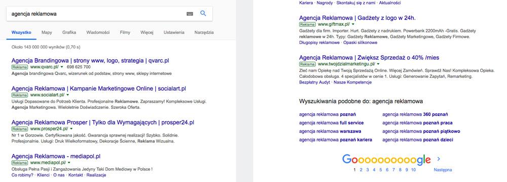 Efekt pierwszeństwa i świeżości w wyszukiwarce Google