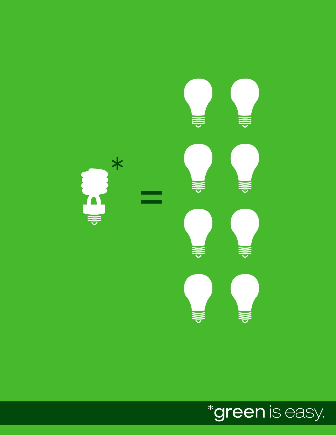 Zielony, to wręcz idealny kolor dla projektów związanych z ekologią